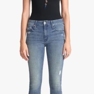 Mother jeans The Looker in Graffiti Girl size 29